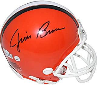 jim brown mini helmet