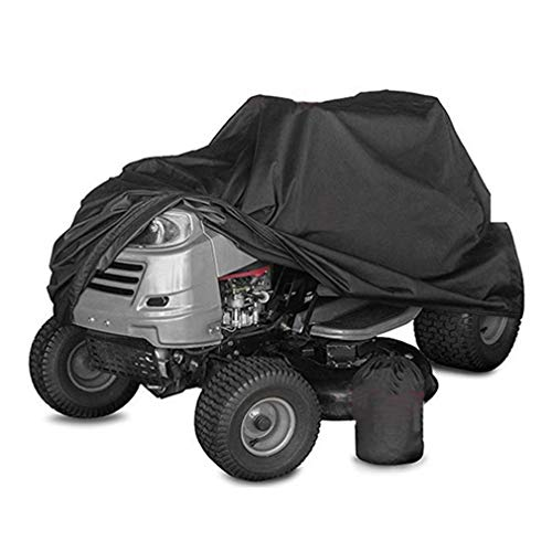 Housse de Tondeuse à Gazon Oxford 210D Robuste, étanche, résistante aux UV, Housse de Tracteur de Taille Universelle pour Les terrasses jusqu'à 54 '' avec Sac de Rangement