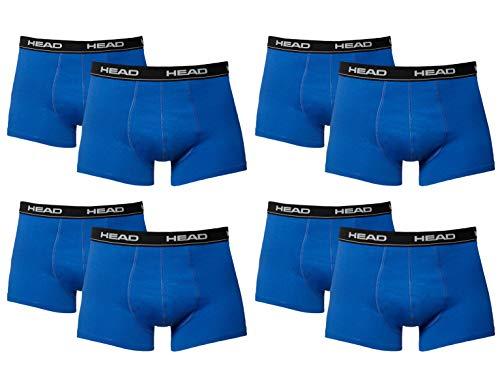 HEAD Men Boxershort 841001001 Basic Boxer 8er Pack, Blue/Black (021), XL