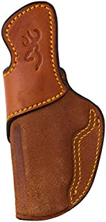 Browning 12904010 Leather Holster, 1911-22/1911-380, Inside Waistband, Tan, 05