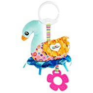[Official LAMAZE EDUCATIVE TOY] Sierra The Swan is an ideal toy for babies to learn while having fun. All baby's senses are awakened thanks to the different colours, sounds and textures of this adorable plush toy and its ability to handle is promoted...