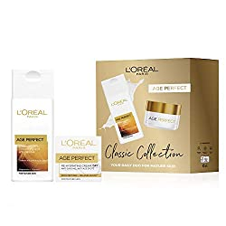 The perfect self-care gift for her, our classic Age Perfect two-step Skincare collection for her A pampering daily care and cleanse Ritual, a treat for the skin from L'Oreal Designed for mature skin, to fight against sagging and age spots, and leave ...
