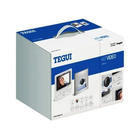 Kit Videoportero2 hilos Tegui Sfera New con monitor CLASSE100V16E Avanzado379115