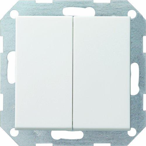 Gira 12803 Tastschalter 012803 Wechsel System 55 rw, 250 V, Weiß