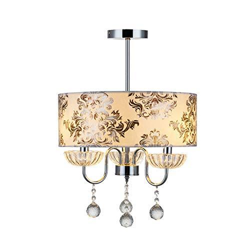 Kroonluchter plafondlamp eenvoudige retro slaapkamerlamp moderne minimalistische plafondlamp WC badkamer kroonluchter 40 * 58 cm hangend licht