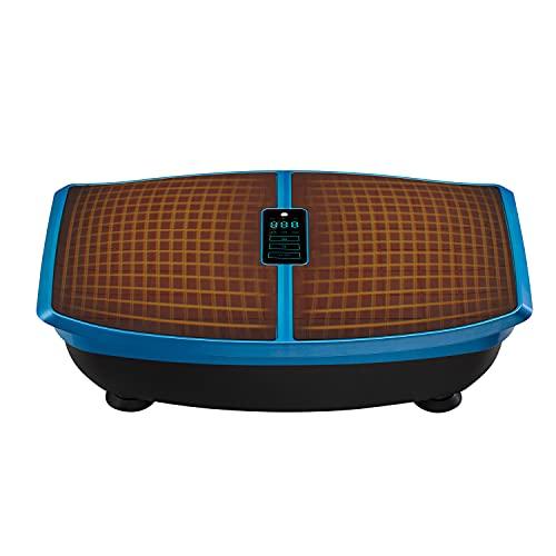LifePro Waver Enhance Heated Vibration Plate Exercise Machine - Back Exercise, Calf & Leg Exerciser, Body Sculpting, Home Gym, Lymphatic Drainage Machine Vibrating Platform