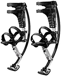 SEESEE.U Skyrunner Jumps Shoes Bouncing Shoes Bounce Boot Stilts Spring for Kid Youth,XL