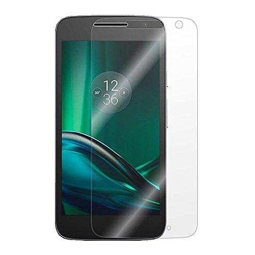 [2 unidades] Protetor de tela para Moto G4 Play, vidro temperado, protetor de tela transparente resistente a arranhões para Motorola Moto G4 Play de 5 polegadas [não serve para Moto G4 Plus]