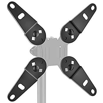 HUANUO Universal Vesa Adapter -Vesa Extender Monitor Mount Adapter Kit Fits Most 13 to 32 inch Convert Vesa Plate to Reach 200×100 and 200×200