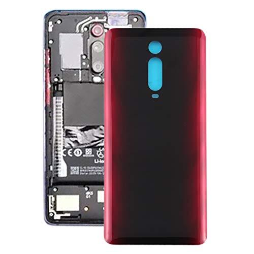 MENGHONGLLI Tapa Trasera de la batería del teléfono Celular La batería Cubierta Trasera para Xiaomi redmi K20 / K20 Pro/Mi 9T / Mi 9T Pro Accesorios (Color : Red)