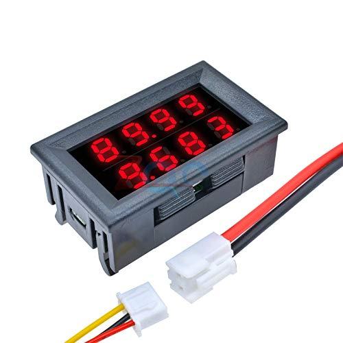 Why Choose 0.28 Inch Digital DC Voltmeter Ammeter 4 Bit 5 Wires DC 200V 10A Volt Voltage Current Met...