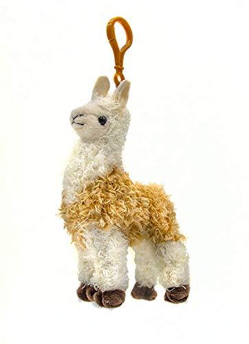 B-THERE Llama Stuffed Animal Plush Keychain