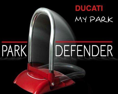 DUCATI MY PARK 2110 100% kablelloser Automatische Parkplatzsperre Parkplatzbügel Parkpfosten mit fernbedienung und Akku
