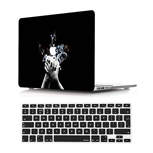 NEWCENT MacBook Pro 13' Retina Case,Plastic Ultra Slim Light Hard Case UK Keyboard Cover for MacBook Pro 13 inch Retina Display No CD-ROM/Touch(Model:A1425/A1502),Diablo 34