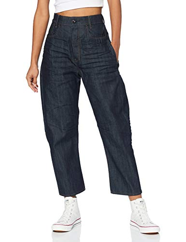 G-STAR RAW C-STAQ Boyfriend Crop Jeans, Denim Crudo 3D B988-1241, 31W / L32 para Mujer