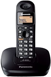 Panasonic Single Line 2.4GHz KX-TG3611SX Digital Cordless Telephone - Black