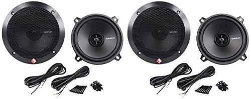 (2) Pairs Rockford Fosgate R1525X2 5.25' 2-Way 320 Watt Total Car Audio Speakers