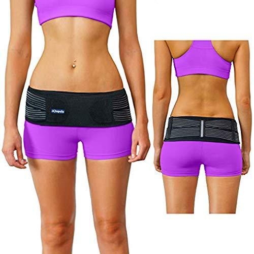 Altapolo Si Belt for Women and Men - Stabilizing Si Brace Alleviates Inflammation Sciatica Belt - Anti-Slip Si Joint Belt - Trochanter Sacroiliac Support Belt