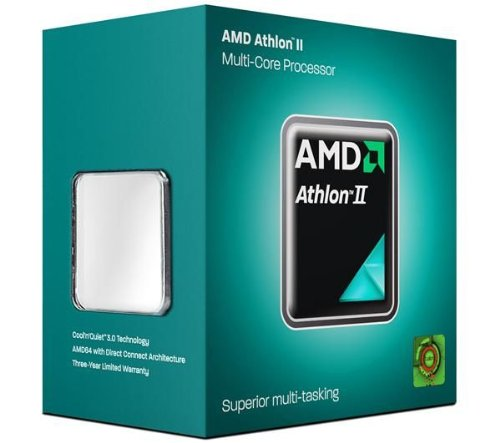 AMD Athlon II X4 635 Quad Core - 2,9 GHz - Enchufe AM3 (ADX635WFGIBOX) + Surgemaster Home Protector de sobretensiones - 4 conectores - 2 M