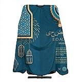 Eid Al Adha Islamische arabische Religion Haarschnitt Schürze Kap für Haarschneiden Haar...