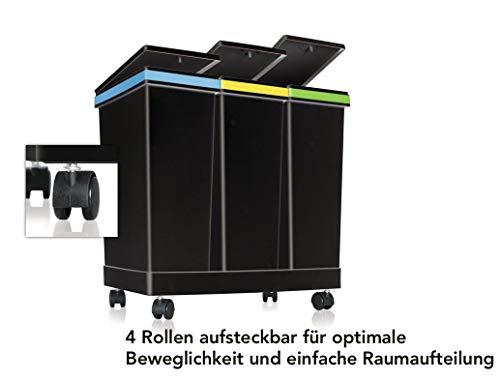 smarty Cubos de basura para exterior
