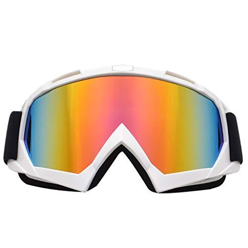 Aiyu Gafas Nemesis Gafas de Seguridad Bolle de Seguridad Gafas de Seguridad Anti-vaho Gafas de DEWALT Gafas Anti-UV Lentes recubiertas acogedora ki Motocicleta de Invierno al Aire Libre Ciclismo