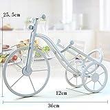 HZFROST Vintage Tricycle Porte-Bouteille Meilleur Porte-Bouteille Creative Résine...