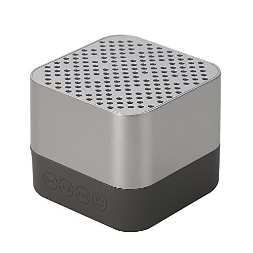 A15 Mini altavoz inalámbrico TF tarjeta portátil altavoz impermeable con micrófono manos libres Bluetooth compatible reproductor de música plata