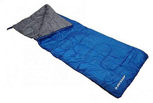 Dunlop Schlafsack 190x75, blau