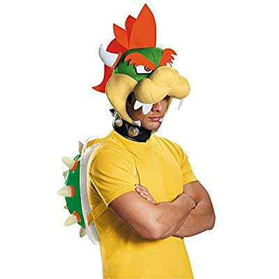Disguise Men's Bowser Costume Kit - Adult, Multi, One Size by Disguise Costumes