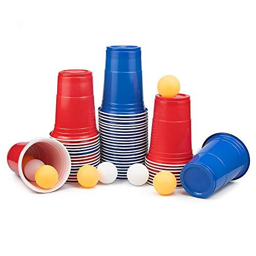 Aobp Partybecher Trinkbecher Plastikbecher Set Party Cups Plastikbecher Einwegbecher Kunststoff Becher