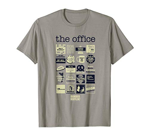 The Office Quote Mash-Up Funny T-Shirt - Official Tee Camiseta