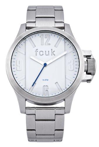 FRENCH CONNECTION FC1162SM - Reloj de pulsera hombre, acero inoxidable, color plateado