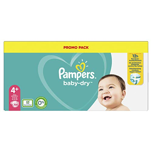 Pampers, 81723658 BabyDry Pants windeln, Weiß