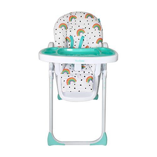 Votre chaise haute Babiie Rainbow Premium
