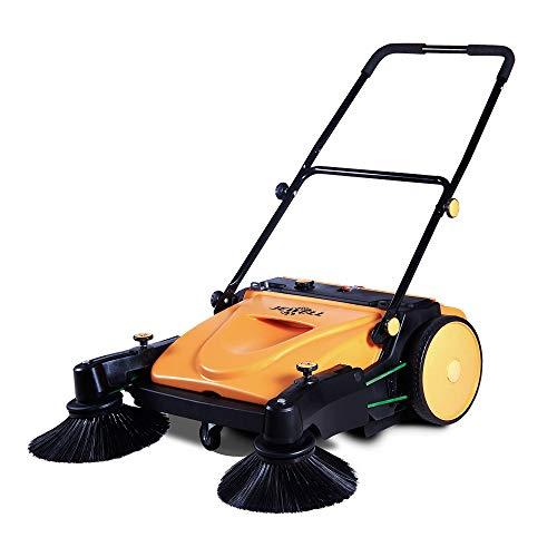 Best Price 1339 JL950 Walk-Behind Manual Sweeper 37 Triple Brushes Walk-Behind
