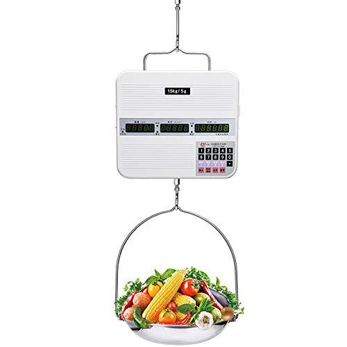 YZSHOUSE 15 Kg 30 Kg Balanza Electrónica Escala De Precios