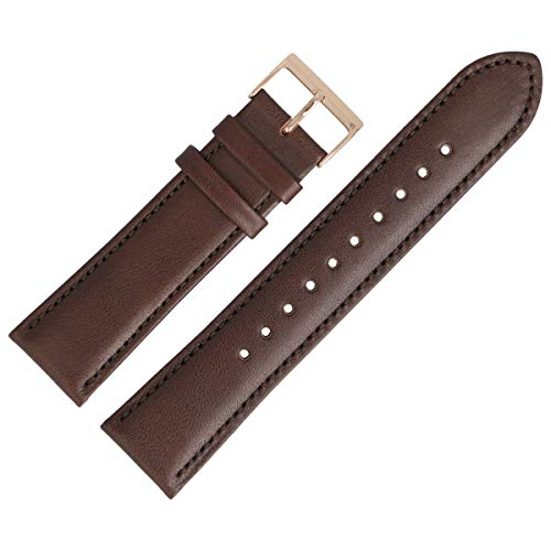 Hugo Boss Uhrenarmband 22mm Leder Braun Glatt - 659302791