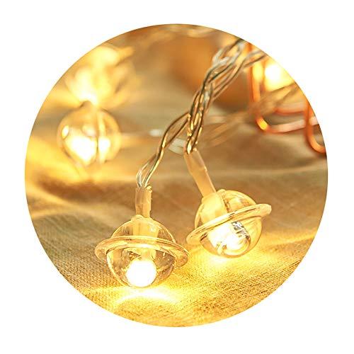 10M DecoracióN NavideñA Bell String Lights Luces Intermitentes Enchufe Luz EléCtrica DecoracióN...