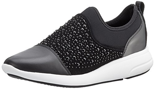 Geox D Ophira B, Zapatillas para Mujer, Negro (blackc9999),