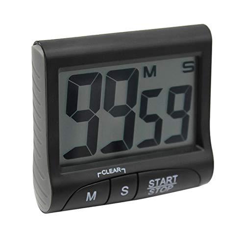 cronómetro temporizador digital Temporizador temporizador cocina temporizador-negro