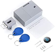 Smart Lock Battery Rfid Ic Card Sensor Cabinet Drawer Intelligent Diy Invisible Hidden Digital Lock Without Perforate Hole...