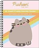 Pusheen 16-Month 2021-2022 Monthly/Weekly Planner Calendar