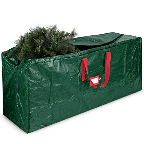 Holiday Storage Green Covermates Keepsakes Structured Rolling Christmas Tree Storage Bag Superior Protection Fits Up to 15 Foot Tree