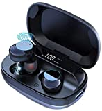 ISPEKTRUM Wireless Earbuds i-BASS Bluetooth 5.0 with Chargeable Metal case, Touch Controls, Digital