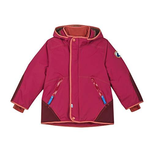 Finkid Talvinen Husky Pink-Rot, Isolationsjacke, Größe 100-110 - Farbe Persian Red - Chilli