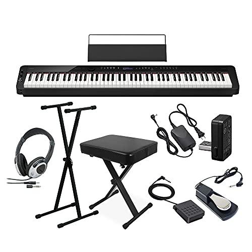 CASIO PX-S3100 電子ピアノ 88鍵盤 ヘッドホン・Xスタンド・Xイス・ダンパーペダルセット カシオ
