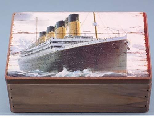 SDL Imports Titanic Box Shabby Chic