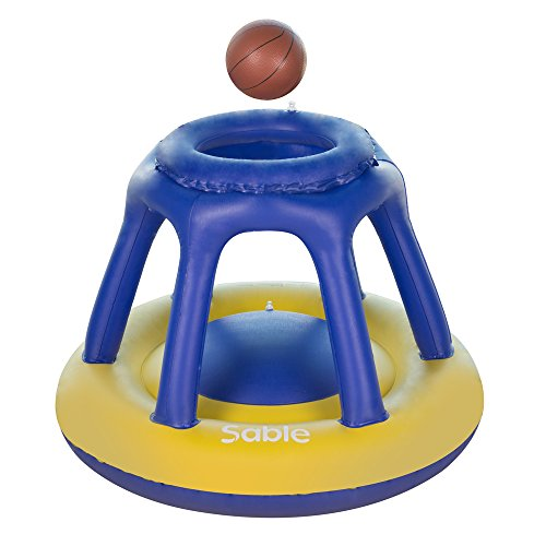 Sable Inflatable Pool Basketball Hoop with one...
