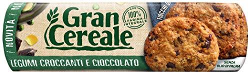Gran Cereale Biscotti ai Legumi Croccanti e Cioccolato, Biscotti dal Gusto Pieno Ricchi di Fibra e Fosforo - 270 g